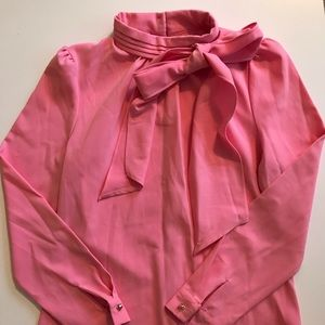 Chicwish Tops - CHICWISH | 🎀 Pink Bow Blouse (S)